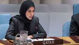HE the Permanent Representative of Qatar to the United Nations Ambassador Sheikha Alia Ahmed bin Sai