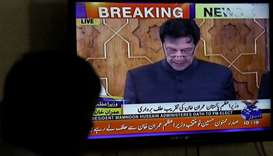 Cricket hero Imran Khan sworn in as Pakistan PM