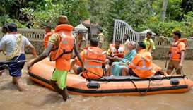 Focus shifts to rescue as rain abates in flood-hit Kerala