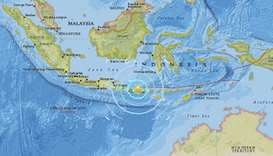 Fresh tremor rocks Indonesia's Lombok