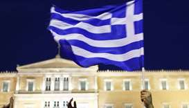 The Greek parliament in Athens