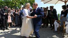Austrian FM bow to Putin at wedding dance goes viral