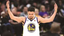 Thompson wants to be 'a Warrior for life'
