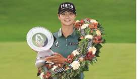 Park returns to world No 1 with LPGA Indy playoff triumph