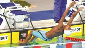 New personal bests for Qatari swimmers