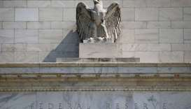 The Federal Reserve building pictured in Washington, US