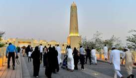 Joy, piety mark Eid al-Adha festivities in Qatar