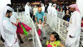 Eid events at Katara enthral huge crowds