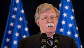 Sanctions on Iran having effect, but regime change is not US policy – Bolton