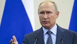 Russia to withdraw from key nuclear arms treaty, Putin says