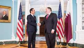 Foreign Minister meets US Secretary of State Pompeo