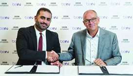 BBC, beIN sign pact to extend creative ties