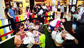 Back-to-school campaign draws good crowds at Mall of Qatar
