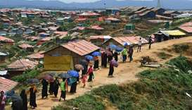 Rohingya crisis a year on: refugees going nowhere as cash crunch looms