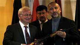 Afghanistan's security adviser resigns in break with president