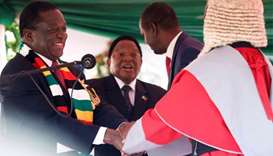Mnangagwa sworn in as president of Zimbabwe