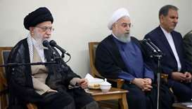 Khamenei tells Rouhani govt to solve economic problems