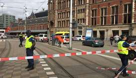 Double stabbing at Amsterdam station, terrorism not ruled out