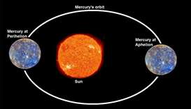 Mercury to come closest to Sun on Sunday