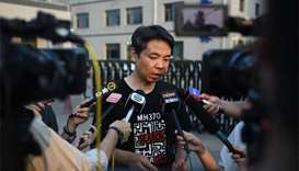 Chinese relatives frustrated by MH370 report