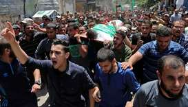 Palestinian teen dies of wounds from border clash