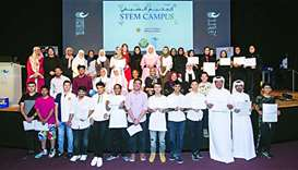 Qatar Shell, CNA-Q conclude STEM Summer Camp