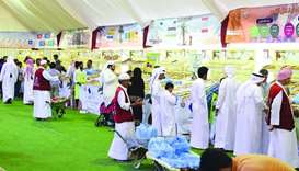 A large number of people visited Souq Wakif, the venue of the Third Dates Festival, on the last day