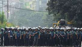 Bangladesh floats death penalty for road deaths in bid to quell protests