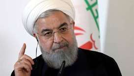 Rouhani says negotiations with sanctions 'makes no sense'