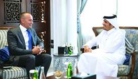 Foreign minister meets UN special co-ordinator