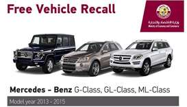 Ministry recalls Mercedes Benz models of 2013-2015