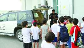 MoI departments take part in sports clubs activities