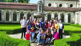 GU-Q students explore globe, broaden worldview