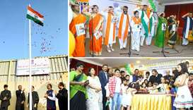 Indian community celebrates 73rd Independence Day