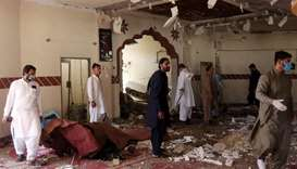 At least four killed, 22 Injured in blast at mosque in Pakistan's Quetta