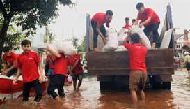 Ooredoo Myanmar delivers aid to flood victims in Mon State