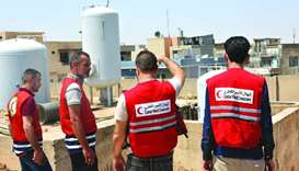 Recently, the QRCS representation mission in Iraq completed a bulk of projects to enhance 'WASH' ser
