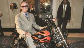 A September 12, 2010, file photo of Peter Fonda at the 'Best Buddies Gala' during the 35th Toronto I