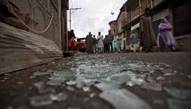 India reimposes movement curbs on parts of Kashmir's main city after clashes