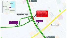 Closure on C-Ring Road for a week
