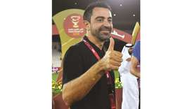Happy to win my my first title with Sadd: Xavi