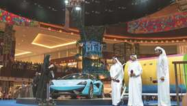 Third raffle draw winners announced at Mall of Qatar during the grand finale of SiQ's shopping celeb