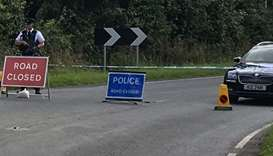 Police near Northern Ireland border