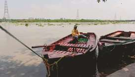 Yamuna River in New Delhi