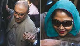 Zardari and sister remanded until September 5