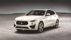 New Maserati Levante GTS and Trofeo offer extra features