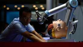 A robotic arm for brain surgery