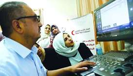 QRCS provides vital medical equipment to Gaza health centres