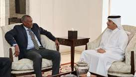 FM meets IGAD executive secretary
