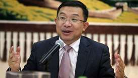 Chinese ambassador Zhou Jian addressing the media in Doha. PICTURE: Jayaram